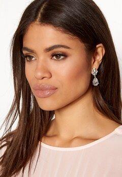 SNÖ of Sweden Noemi Drop Earrings Silver/Clear Bubbleroom.eu