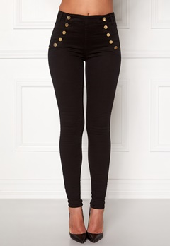 77thFLEA Adina highwaist Jeans Black Bubbleroom.eu
