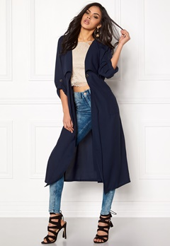 77thFLEA Baku light trench Dark blue Bubbleroom.eu