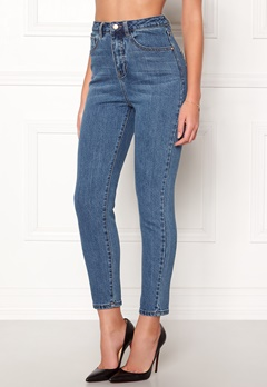 77thFLEA Felice high waist jeans Dark blue Bubbleroom.eu