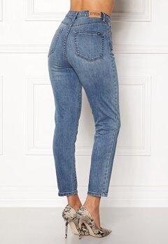 77thFLEA Felice high waist jeans Medium blue Bubbleroom.eu
