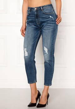 77thFLEA Indigo boyfriend jeans Medium blue Bubbleroom.eu