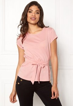 77thFLEA Layla t-shirt Dusty pink Bubbleroom.eu