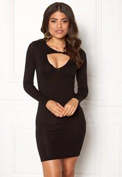 77thFLEA Lulah Twist Dress Black Bubbleroom.eu
