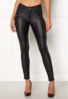 77thFLEA Moa coated jeans Black Bubbleroom.eu
