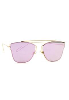 77thFLEA Pinky Sunglasses Gold Bubbleroom.eu