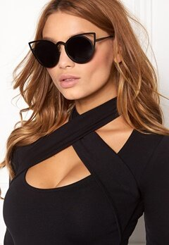 77thFLEA Pointy Sunglasses Black Bubbleroom.eu