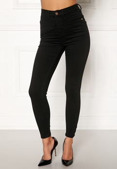 77thFLEA Sandy highwaist superstretch  Black Bubbleroom.eu