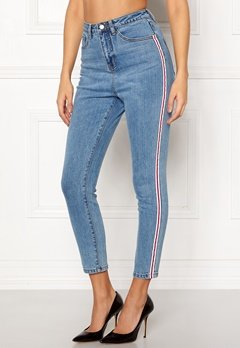 77thFLEA Tinnie highwaist jeans Blue Bubbleroom.eu