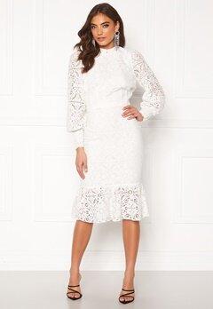Alexandra Nilsson X Bubbleroom Lace flounce skirt White Bubbleroom.eu