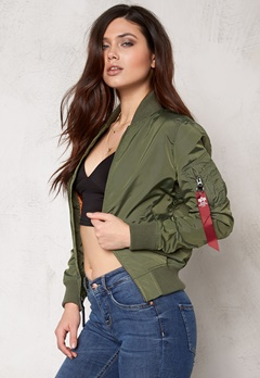 Alpha Industries MA-1 TT Sage Green Bubbleroom.eu