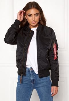 Alpha Industries MA-1 VF 59 03 Blk Bubbleroom.eu