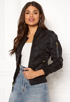 Alpha Industries MA-1 VF LW 365 Black/Gold Bubbleroom.eu