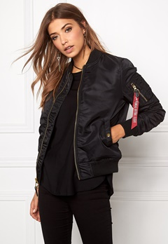 Alpha Industries MA-1 VF PM Black Bubbleroom.eu