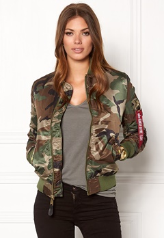 Alpha Industries MA-1 VF PM Camo Bubbleroom.eu