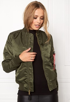Alpha Industries MA-1 VF PM Dark Green Bubbleroom.eu