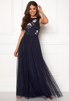 AngelEye Sequin Embroidered Dress Navy Bubbleroom.eu