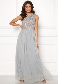 AngelEye Sleeveless Bodice Dress Light Grey Bubbleroom.eu