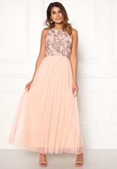 AngelEye Sleeveless Sequin Dress Pink Bubbleroom.eu
