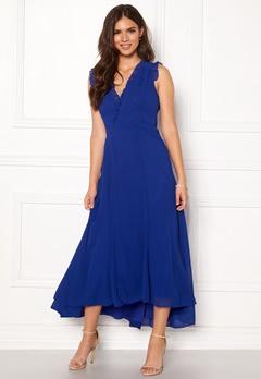 AngelEye Sleeveless Wrap Dress Blue Bubbleroom.eu