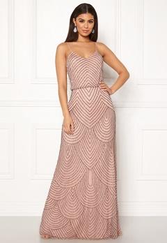 AngelEye Strappy Sequin Maxi Dress Cameo Rose Bubbleroom.eu