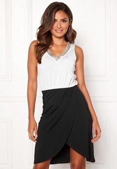 Happy Holly Anya dress Black / Offwhite Bubbleroom.eu