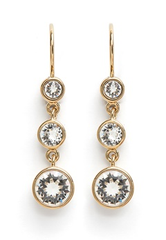 Dyrberg/Kern Anya Earrings White Bubbleroom.eu
