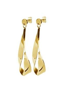 Dyrberg/Kern Arc Shiny Earrings Gold Bubbleroom.eu