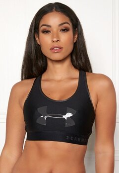 Under Armour Armour Graphic Sport Bra 001 Black Bubbleroom.eu