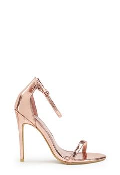 AX Paris Barely Heels Shoes Rose Gold Bubbleroom.eu