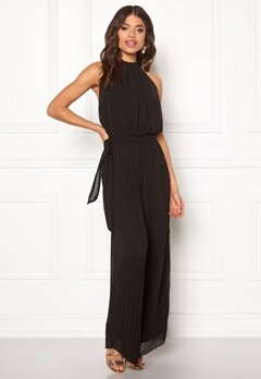 AX Paris Blouson Pleated Jumpsuit Black Bubbleroom.eu