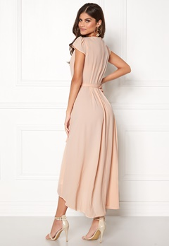 AX Paris Cap Waterfall Dress Nude Bubbleroom.eu