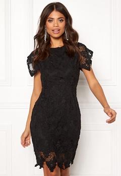 AX Paris Crochet Midi Dress Black Bubbleroom.eu