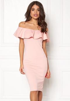 AX Paris Off the Shoulder Dress Pink Bubbleroom.eu