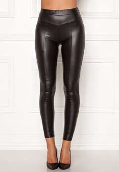 AX Paris Faux Leather PU Leggings Black Bubbleroom.eu