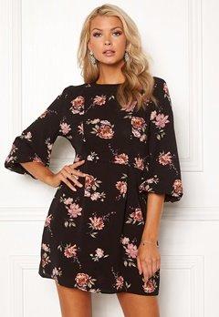 AX Paris Floral Print Mini Dress Black Bubbleroom.eu