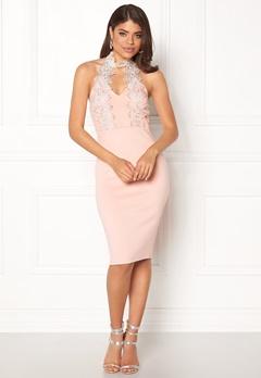AX Paris Halterneck Choker Dress Pink Bubbleroom.eu