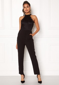 AX Paris High Neck Bodice Jumpsuit Black Bubbleroom.eu