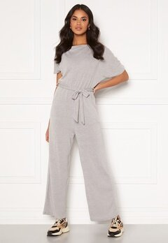 AX Paris Knitted Jumpsuit Grey Bubbleroom.eu