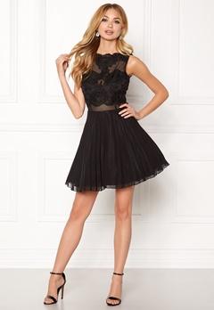 AX Paris Lace Top Skater Dress Black Bubbleroom.eu