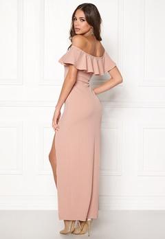 AX Paris Off The Shoulder Dress Blush Bubbleroom.eu