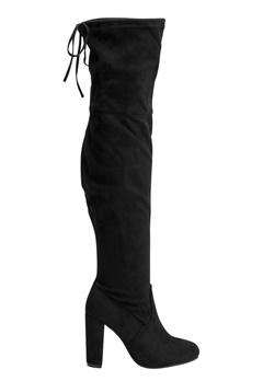AX Paris Overknee Boots Black Bubbleroom.eu