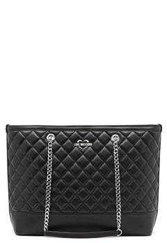 Love Moschino Bag With Chain 00A Black/Silver Bubbleroom.eu