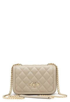 Love Moschino Bag With Chain 108 Taupe/Sand Bubbleroom.eu
