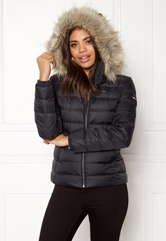 TOMMY JEANS Basic Down Jacket Black Beauty Bubbleroom.eu
