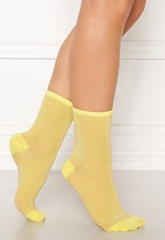 Becksøndergaard Dina Solid Socks Yellow Bubbleroom.eu