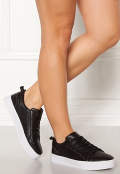 Bianco Birka Studs Sneakers 101 Black Bubbleroom.eu