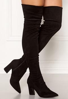 Bianco Carter Overknee Boots Black Bubbleroom.eu