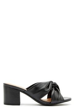 Bianco Cate Knot Mule Sandal 100 Black Bubbleroom.eu