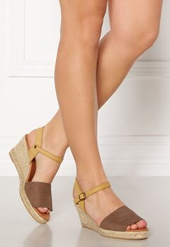 Bianco Dara Suede Espadrillo 211 Light Brown Bubbleroom.eu